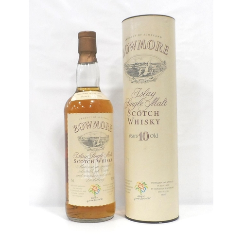 42 - BOWMORE 10YO GLASGOW GARDEN FESTIVAL A fantastic bottling of the Bowmore 10 Year Old Single Malt Sco...