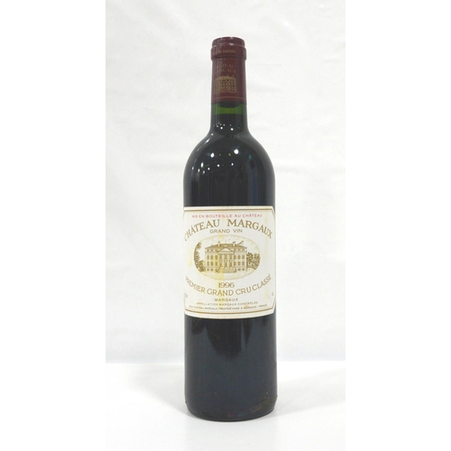 44 - CHATEAU MARGAUX 1996 One of the great names of Bordeaux and one of the great vintages of the last ce...
