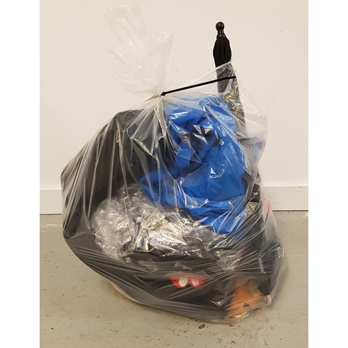 50 - ONE BAG OF PRAM AND BABY ACCESSORIES...