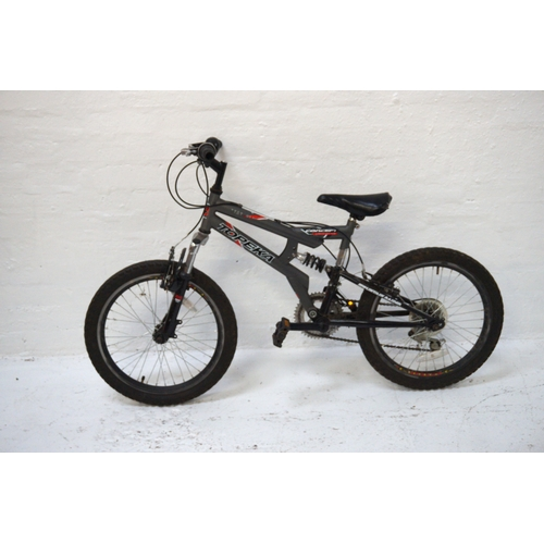199 - TOPEKA MOUNTAIN RAIDER BICYCLE with dual suspension and twelve gears...