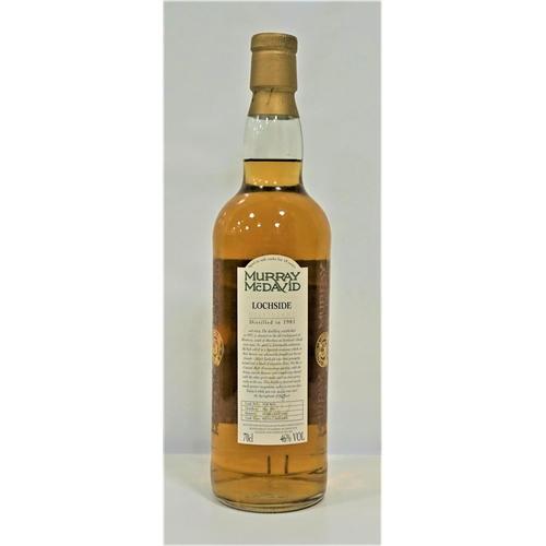 10 - LOCHSIDE 1981 - MURRAY MCDAVID A rare bottle of single malt from the Silent Lochside Distillery in M...