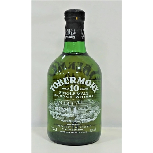 28 - TOBERMORY 10YO A nice bottle of the Tobermory 10 Year Old Single Malt Scotch Whisky.  70cl.  40% abv...