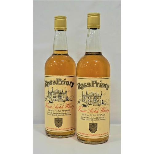 29 - ROSS PRIORY FINEST SCOTCH WHISKY A pair of bottles of the Ross Priory Blended Scotch Whisky bottled ...