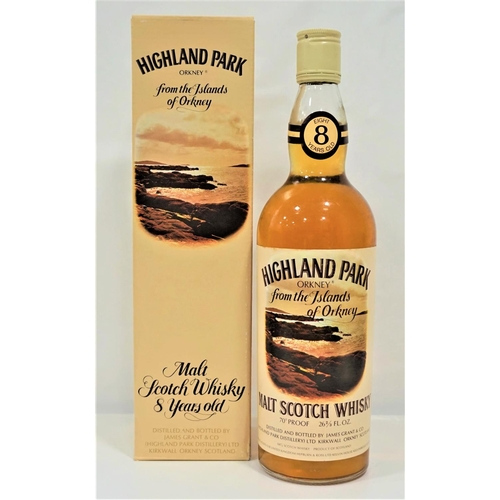 30 - HIGHLAND PARK 8YO A fine bottle of the Highland Park 8 Year Old Single Malt Scotch Whisky bottled in...