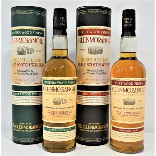 31 - TWO GLENMORANGIE WOOD FINISH BOTTLES A pair of Glenmorangie bottles from their Wood Finish series.  ...