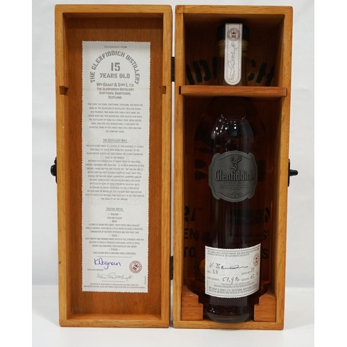 38 - GLENFIDDICH 15YO DISTILLERY EXCLUSIVE Only available to buy at the Distillery and matured in Sherry,...