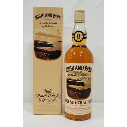 45 - HIGHLAND PARK 8YO A fine bottle of the Highland Park 8 Year Old Single Malt Scotch Whisky bottled in...