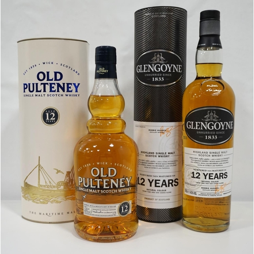 67 - TWO HIGHLAND MALTS Two bottles of Highland region malts from opposite ends of the region.  One bottl...
