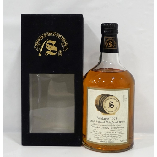 91 - GLENURY ROYAL 1975 - SIGNATORY Whisky from Silent Distilleries are definitely the way to go - as lon...