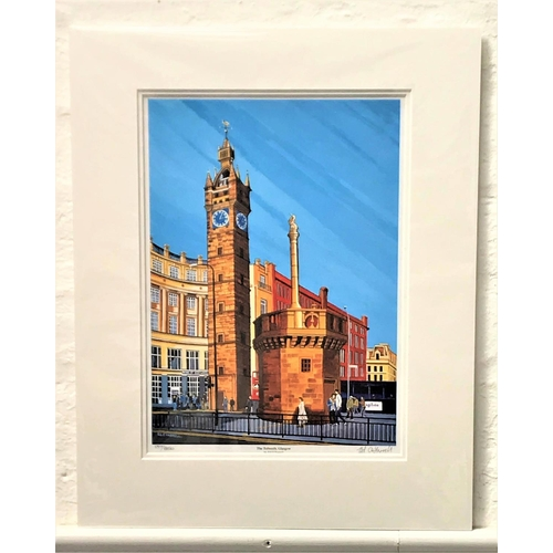 47 - ED O'FARRELL The Tolbooth, Glasgow, limited edition print, signed and numbered 137/850, 36cm x 25.5c...
