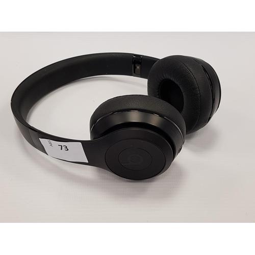 73 - BEATS BY DR. DRE SOLO3 ON-EAR WIRELESS HEADPHONES...