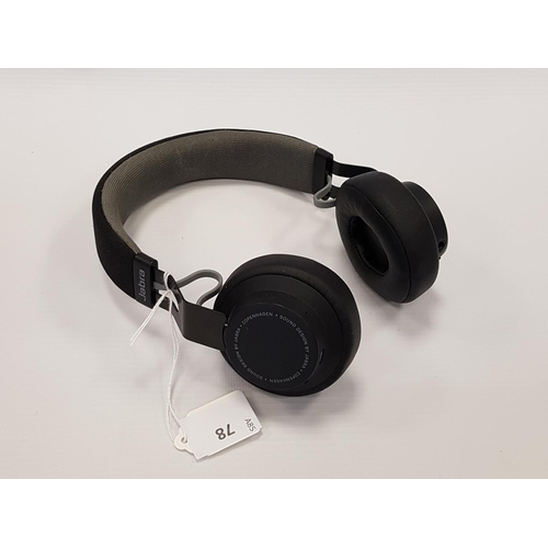 78 - JABRA MOVE WIRELESS BLUETOOTH ON-EAR HEADPHONES...