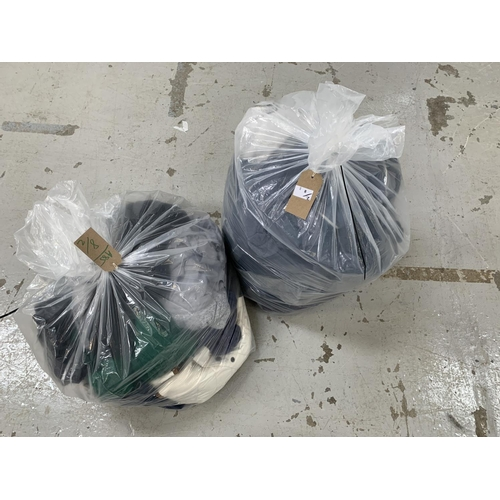 8 - TWO BAGS OF LADIES CLOTHING ITEMS Tommy Hilfiger, Nike, Ralph Lauren and GAP...