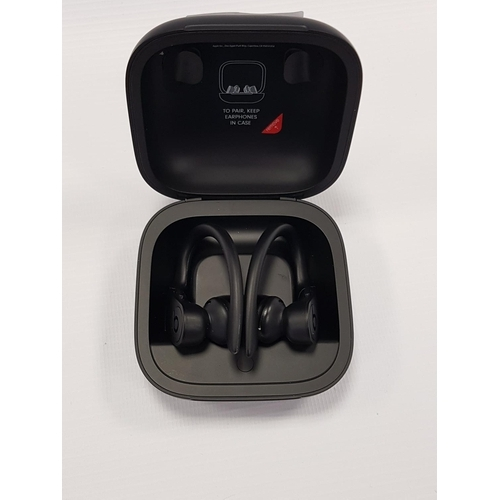74 - BEATS BY DR. DRE POWERBEATS PRO WIRELESS EARPHONES  with charging case....