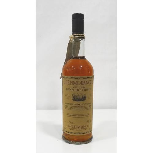 691 - GLENMORANGIE DISTILLERY MANAGER'S CHOICE  A great bottle of Glenmorangie Distillery Manager's Choice...