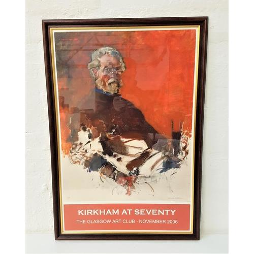 100 - NORMAN KIRKHAM (Scottish b.1936) Kirkham At Seventy, The Glasgow Art Club-November 2006, limited edi...