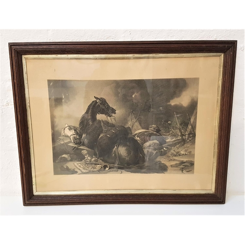 104 - SIR EDWIN LANDSEER Time Of Peace and Time Of War, engravings, both 45.5cm x 63cm (2)...