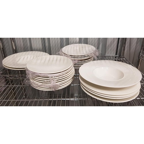 101 - SELECTION OF ALCHEMY TABLEWARE all plates of various sizes, approximately 28...