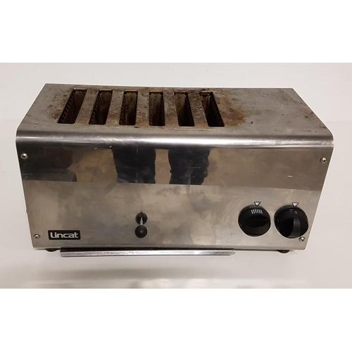 23 - LINCAT LT6X SIX SLICE ELECTRIC TOASTER...