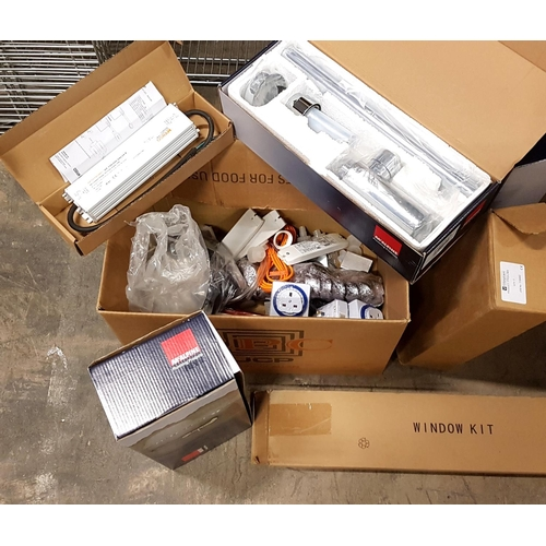 77 - SELECTION OF PLUMBING, ELECTRICAL AND DIY ITEMS including plumbing components, four timer plugs, a w...