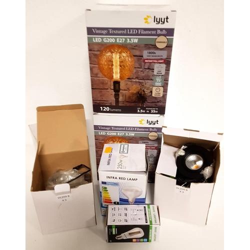 85 - LARGE SELECTION OF LIGHT BULBS...