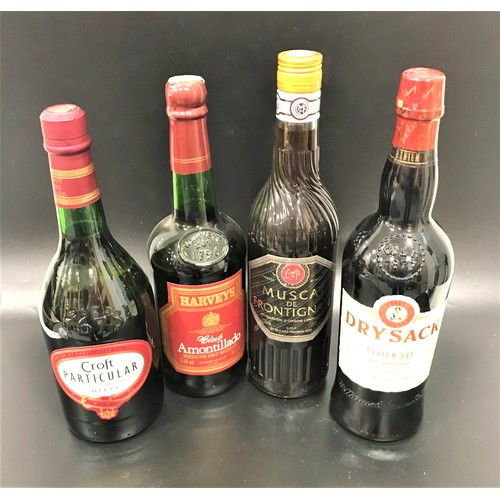 602 - SELECTION OF SHERRY AND DESSERT WINE A selection of fortified and dessert wines.  One bottle of Will...