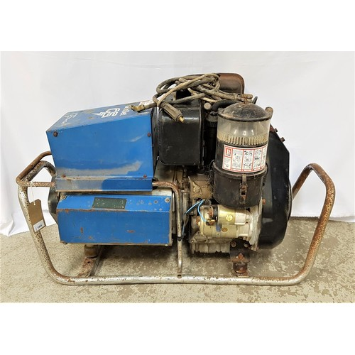 283 - GEN SET GENERATOR with a diesel engine, single phase, 4KW, 240 rated voltage and key start