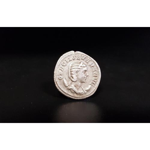 353 - OTACILIA SEVERA (WIFE OF PHILIP I) AR ANTONINIANUS Secular Games issue. Rome, AD 248. OTACIL SEVERA ...