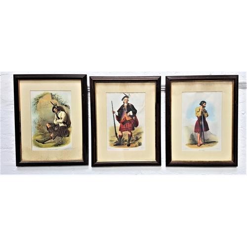 383 - L.DICKINSON MacDonald of Glenco, Cameron and MacDugal, three lithographs, 34cm x 22.5cm (3)
