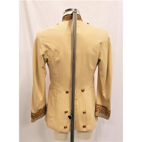 40 - THE PRISONER OF ZENDA (1979) - SYD FREWIN'S JACKET - PLAYED BY PETER SELLERS Custom made cream wool ...