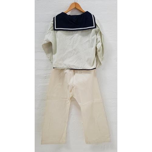 43 - TORA! TORA! TORA! (1970) - WWII JAPANESE NAVY UNIFORM  Custom made by Western Costume Company, cream...