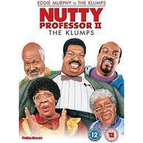 7 - NUTTY PROFESSOR II: THE KLUMPS (2000) - SHERMAN'S STUNT DOUBLE'S PYJAMAS size 5XL burgundy gents pyj...