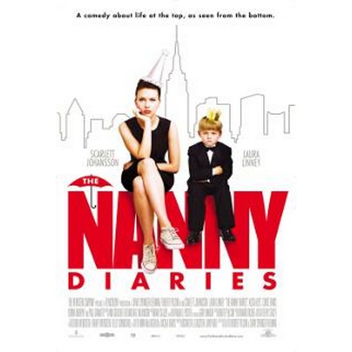 16 - THE NANNY DIARIES (2007) - ANNIE'S STUNT DOUBLE COSTUME  Ladies mid grey jacket and skirt, 100% wool...