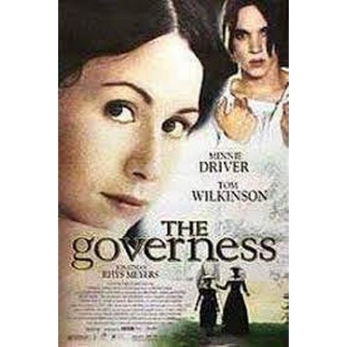 24 - THE GOVERNESS (1998) - ROSINA DA SILVER'S BLACK DRESS - PLAYED BY MINNIE DRIVER  custom made black/b...