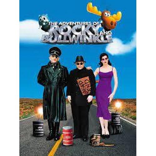 30 - THE ADVENTURES OF ROCKY & BULLWINKLE (2000) - RBTV GREY OVERCOAT Dark grey 100% cotton utility coat ...