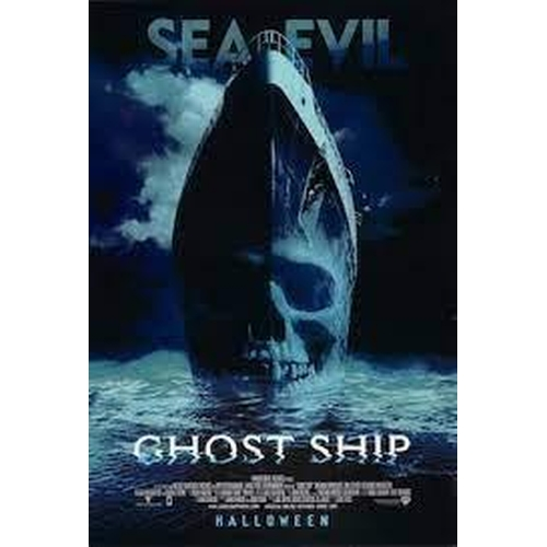 35 - GHOST SHIP (2002) - TWO PIECE GREEN SUIT Gents mint green canvas uniform, the double breasted jacket...