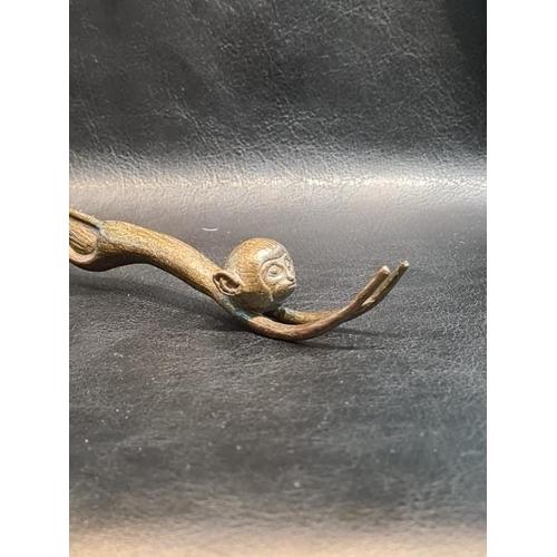 57 - Japanese Jizai Okimono Signed Bronze