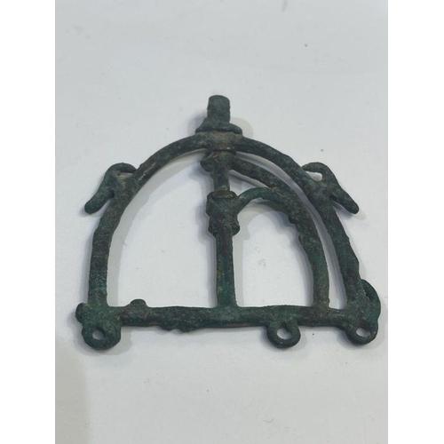 15 - bronze horse attachment from luristan period 1st millennium BC