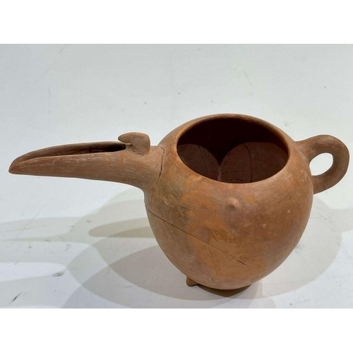 16 - Amlash period red clay beaker circa 1st millennium BC