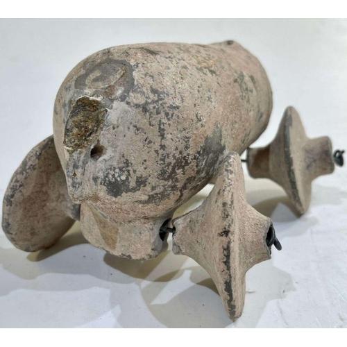 25 - 1st millennium BC clay toy water tanker Amlash period
