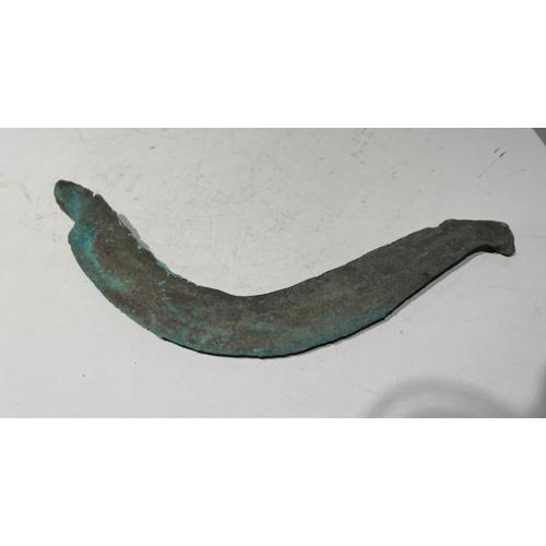 6 - European Bronze Age period Sickel farming axe European Bronze Age period Sickel farming axe     ...