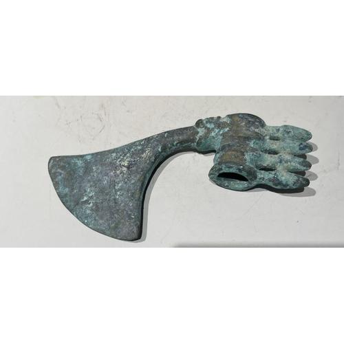 9 - Bronze Roman Axe