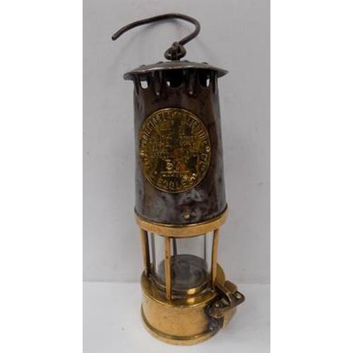 15 - Eccles miner's lamp...