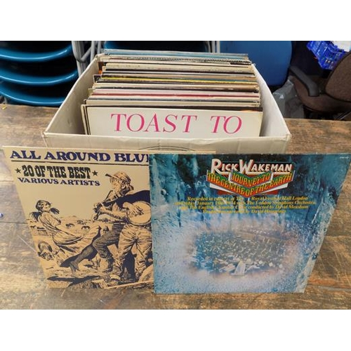 22a - Selection of LPs...