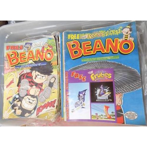 34 - Box of Beano/ Dandy comics (100's)...