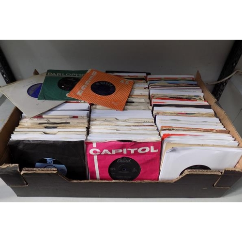 40 - Large box of records, 1960s...