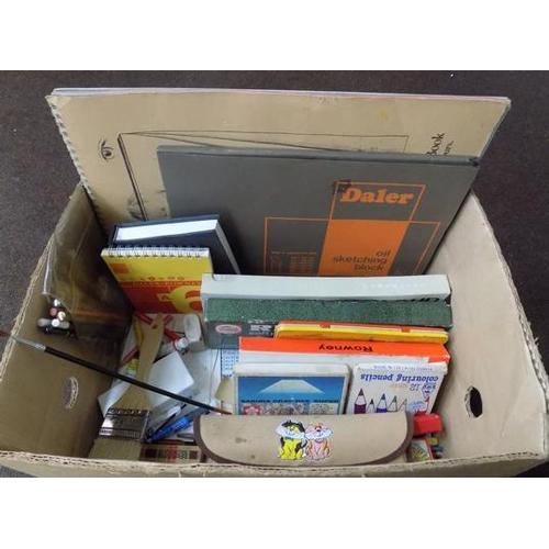 56 - Box of artist's materials...
