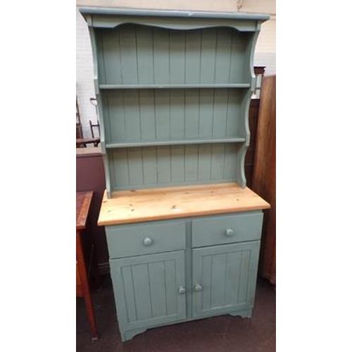 535 - Pine Welsh dresser...