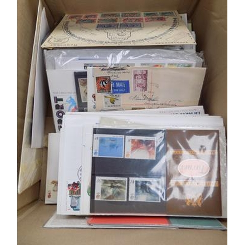 54 - A collection of First Day Covers and presentation packs...