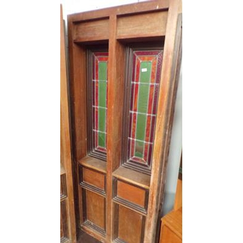 508 - Two panel library partition...